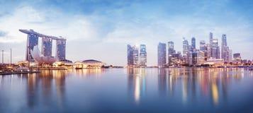 Skyline de Singapura Imagem de Stock
