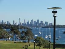 Skyline de Sydney Fotografia de Stock Royalty Free