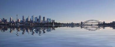 Skyline de Sydney Imagem de Stock