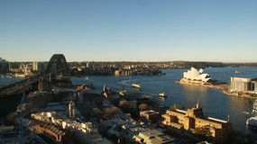Skyline de Sydney Foto de Stock Royalty Free