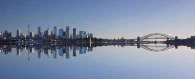 Skyline de Sydney imagens de stock royalty free
