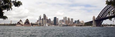 Skyline de Sydney fotos de stock
