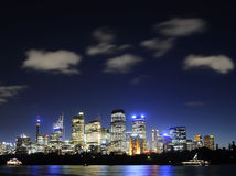 Skyline de Sydney Fotos de Stock Royalty Free