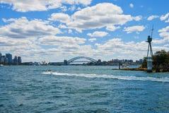 Skyline de Sydney Bay Fotos de Stock