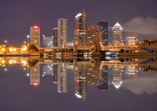 Skyline de Tampa Bay Foto de Stock Royalty Free