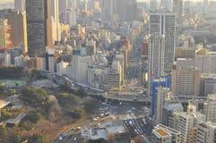 Skyline de Tokyo Fotos de Stock Royalty Free