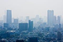 Skyline de Tokyo foto de stock