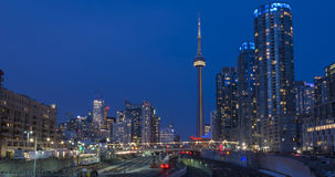 Skyline de Toronto Foto de Stock Royalty Free