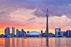 Skyline de Toronto Fotografia de Stock Royalty Free