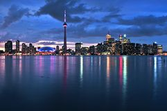Skyline de Toronto Fotos de Stock Royalty Free