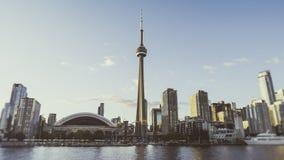 Skyline de Toronto larga Fotos de Stock Royalty Free