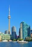 Skyline de Toronto no dia Imagens de Stock