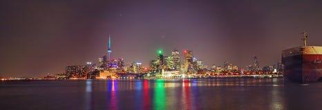Skyline de Toronto no movimento Imagens de Stock
