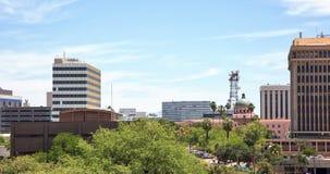 Skyline de Tucson foto de stock royalty free