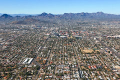 Skyline de Tucson, o Arizona Fotografia de Stock Royalty Free