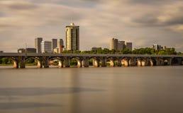 Skyline de Tulsa Fotografia de Stock