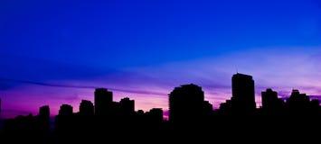 Skyline de Vancôver Imagens de Stock