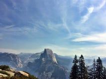 Skyline de Yosemite imagens de stock