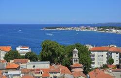 Skyline de Zadar Imagens de Stock Royalty Free