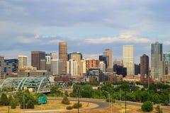 Skyline of Denver in Colorado, USA. Royalty Free Stock Image