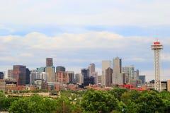 Skyline of Denver in Colorado, USA. Royalty Free Stock Photos