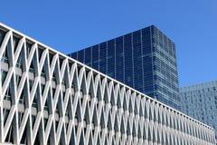 Skyline Depicting Modern Architecture. Royalty Free Stock Photo