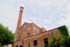 Skyline der Mühle stockfotografie