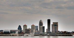 Skyline Derby City KFC Yum Center Louisvilles Kentucky Stockbild