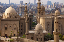 Skyline do Cairo, Egipto foto de stock royalty free