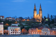 Skyline do castelo de Praga foto de stock royalty free