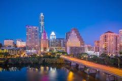 Skyline do centro de Austin, Texas imagem de stock royalty free
