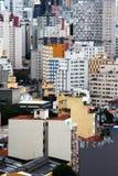 Skyline do centro de Sao Paulo Imagem de Stock