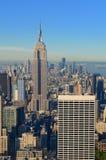 Skyline do console de Manhattan Foto de Stock Royalty Free