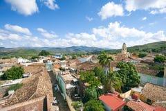 Skyline do Cotta de Trinidad Cuba Colonial Architecture Terra Fotografia de Stock Royalty Free