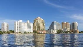 Skyline do Fort Lauderdale Fotografia de Stock