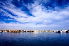 Skyline do leste da cidade Imagem de Stock