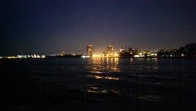 Skyline do leste de Chicago fotos de stock