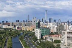 Skyline do Pequim CBD foto de stock royalty free