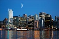 Skyline do porto Imagens de Stock Royalty Free