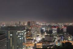 Skyline do sul do Tóquio como visto do World Trade Center fotos de stock royalty free