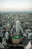 Skyline do Tóquio imagens de stock