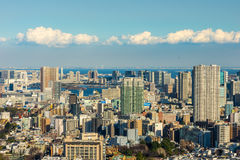 Skyline do Tóquio Fotos de Stock Royalty Free