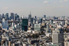 Skyline do Tóquio Fotografia de Stock
