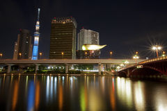 Skyline do Tóquio Imagens de Stock Royalty Free