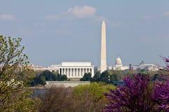 Skyline do Washington DC Imagem de Stock