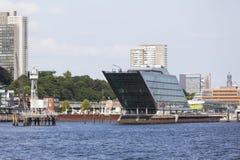 Skyline and Dockland in Hamburg, Germany Royalty Free Stock Photo