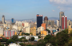Skyline of downtown Caracas - Venezuela Royalty Free Stock Photos