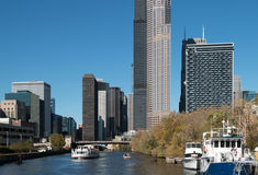 Skyline in downtown Chicago, Illinois Royalty Free Stock Image