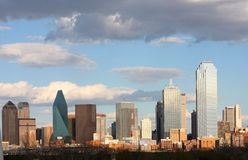 Skyline in downtown of Dallas royalty free stock images