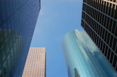 Skyline in downtown houston. Texas Royalty Free Stock Image